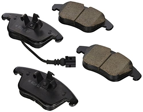 (EURO EUR1375 Akebono EURO Ultra Premium Ceramic Disc Brake Pad Kit)