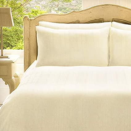 Frette Roma 100 Cotton 280 Thread Count Duvet Cover Set Cream Double Amazon Co Uk Kitchen Home