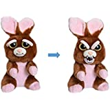 William Mark Feisty Pets Vicky Vicious Adorable Plush Stuffed Easter Bunny that Turns Feisty with a Squeeze