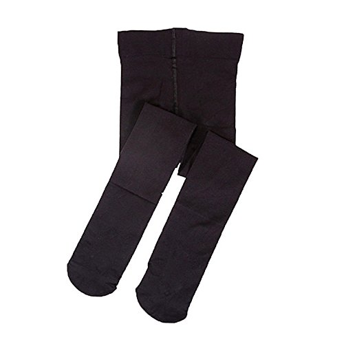 STELLE Girls' Ultra Soft Pro Dance Tight/Ballet Footed Tight (Toddler/Little Kid/Big Kid) (L, Black)]()