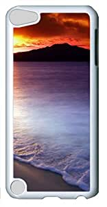 iPod Touch 5 Case and Cover -Spectacular sunrise PC case Cover for iPod Touch 5¨C White
