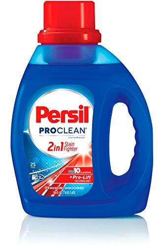Brady Colored Labels - Persil ProClean 2in1 Liquid Laundry Detergent, 50 Fl Oz (25 Loads)