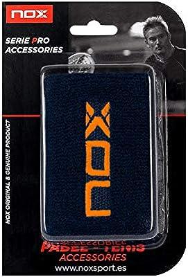 NOX MUÑEQUERA Blister 2 UND Azul Logo Naranja: Amazon.es: Electrónica
