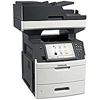 Lexmark MX711DE Laser Multifunction Printer - Monochrome - Plain Paper Print - Desktop - Copier/Fax/Printer/Scanner - 70 ppm Mono Print - 1200 x 1200 dpi Print - Automatic (Certified Refurbished)