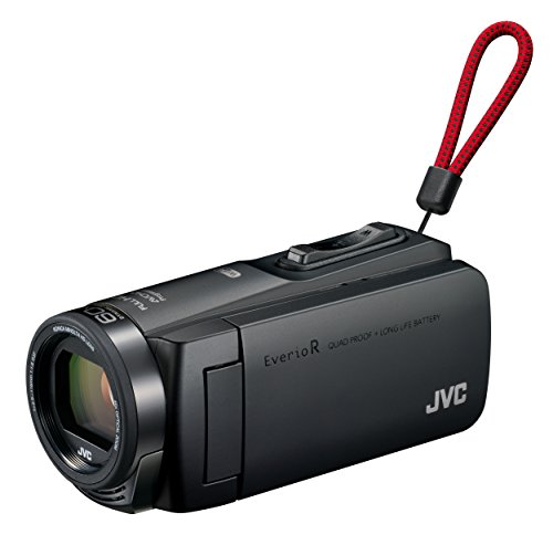 JVCKENWOOD JVC ビデオカメラ Everio R 防水 防塵 Wi-Fi 64GB マットブラック GZ-RX670-Bの商品画像