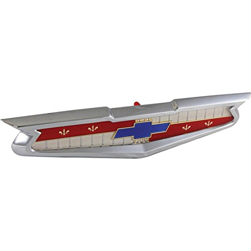 Baker Trunk - Eckler's Premier Quality Products 57-130549 Chevy Trunk Emblem Assembly, Best Quality,
