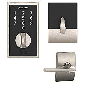 Schlage Be375cen619 Century Keyless Touchscreen Deadbolt W