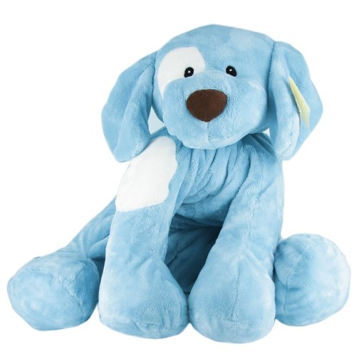 Gund Baby Spunky Plush Puppy Toy Extra Large, Blue