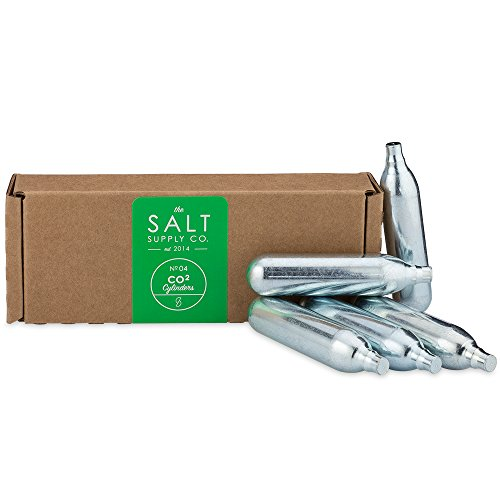SALT CO2 Cylinders for the SALT Self Defense Pepper Spray Gun