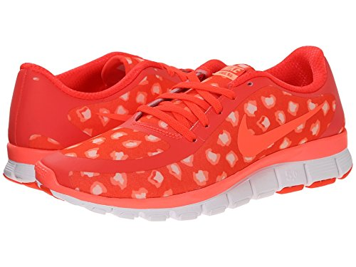 size 40 7a78c 1063d Nike Free 5.0 V4 (Bright Citron Sunset Glow Hot Lava) Womens Shoes