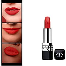 Christian Dior Rouge Dior Couture Colour Comfort and Wear Lipstick, 999 Matte, 0.12 Ounce