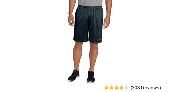 bc552dc25e Champion Men's Long Mesh Short with Pockets at Amazon Men's Clothing store: