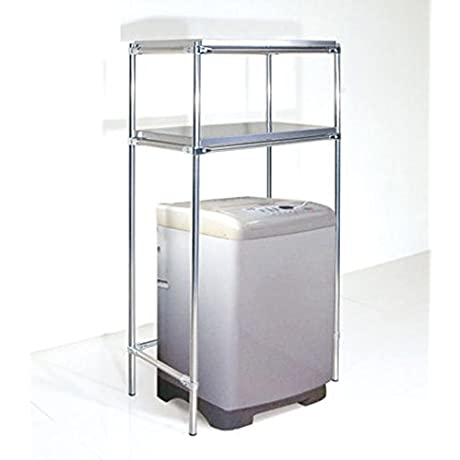 Stainless Steel Washing Rack Bathroom Storage Rack Landing A Microwave And Partition Alignment Jig Layer Shelf Racks C