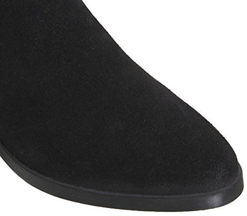 Suede Flat Slouch Kove Black Office Boots FtqAw4x