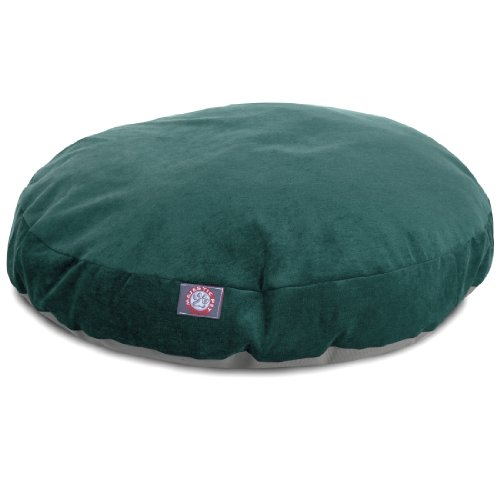 Marine Villa Collection Small Round Pet Dog Bed by Majestic Pet