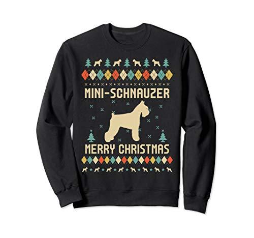 (MINI-SCHNAUZER Sweatshirt, Vintage Retro Sweatshirt)