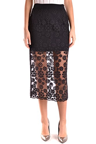 ermanno-scervino-womens-gn1299-black-polyamide-skirt