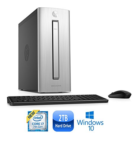 HP ENVY 750-567c Core i7-7700, 16GB, 2TB HDD, Windows 10 Mini Tower PC (Certified Refurbished)