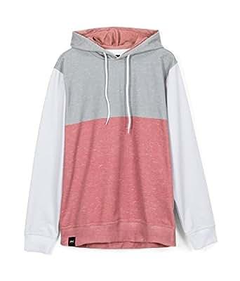 SIMPEL Hoodie. Sudadera unisex rosa. Sudadera con capucha tricolor VINEYARD: Amazon.es: Ropa y accesorios