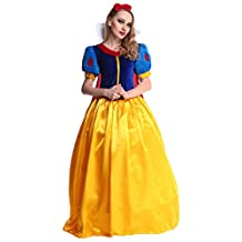 Ninimour Deluxe Princess Fairy Tale Women Adult Costume Cosplay