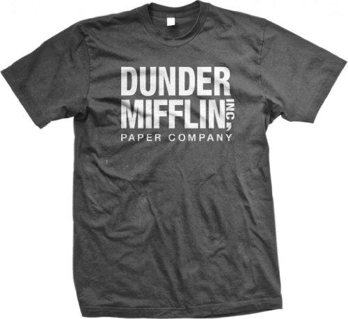dunder-mifflin-paper-inc-funny-mens-cotton-t-shirt-large-charcoal