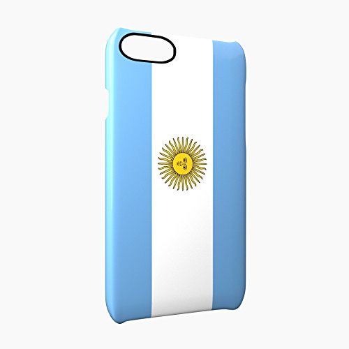 Flag of Argentina Glossy Hard Snap-On Protective iPhone 7 Case Cover