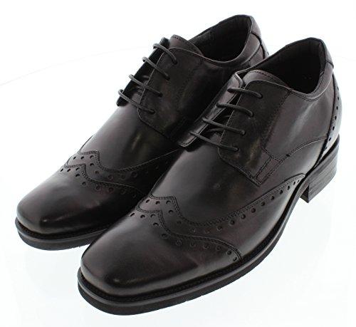 G-CALTO 51632-8,13 (3,2)-Tappetto cm, altezza aumentare ascensore scarpa (nero, ali-tip)