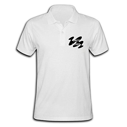 ZHONGJIAN Male's Polo Shirt Short Sleeve With Casual - Margiela London