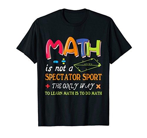 Math funny teacher shirt - Learn math shirt for men women