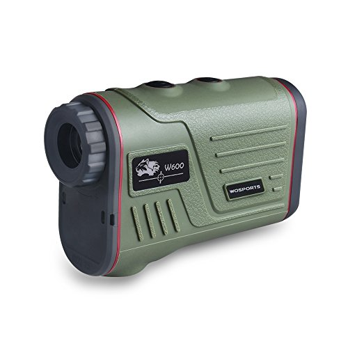 Review Hunting Rangefinder, Laser Range Finder for Hunting with Ranging and Speed (600 Yards)