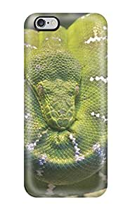 Durable Emerald Tree Boa Snake Back Case/cover For Iphone 6 Plus