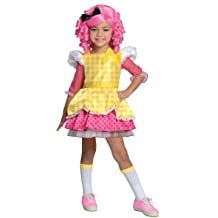 Rubies Costume Lalaloopsy Deluxe Crumbs Sugar Cookie Costume, Small