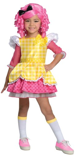 Lalaloopsy Deluxe Crumbs Sugar Cookie Costume, Small - Deluxe Crumbs Sugar Cookie Girls Costumes