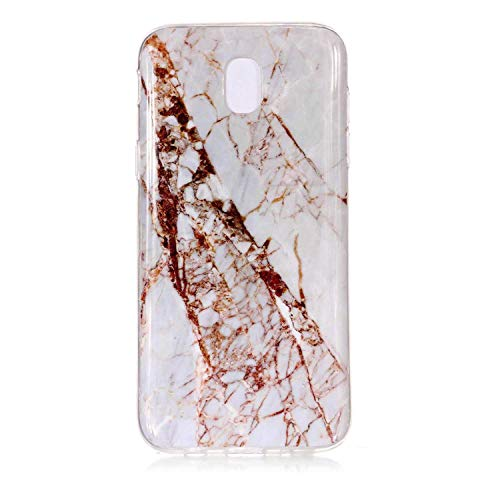 Galaxy J7 2017 Case, UNEXTATI TPU Soft Silicone Printed Protective Phone Case Ultra Slim Cover Case for Samsung Galaxy J7 2017, Pattern - 18