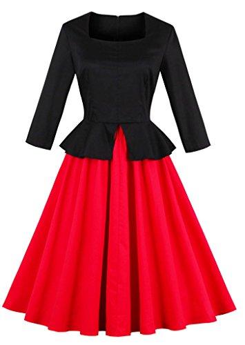 74f708abb1d VERNASSA 50s Retro Dresses