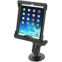 Adhesive Dashboard Car Mount for Apple iPad Air 1 2 w/ LifeProof & Otterbox Case
