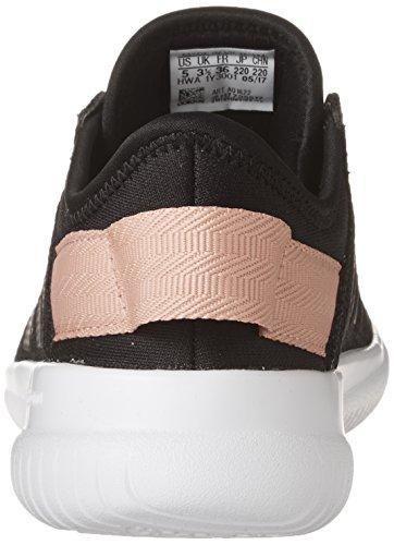 adidas Frauen CF Qtflex W Laufschuh Schwarz / Schwarz / Trace Pink