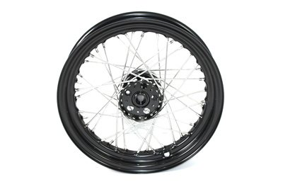 V-Twin 52-0988 - 18'' Rear Wheel with Black Hub