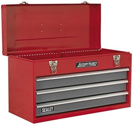 Sealey AP9243BB - Caja de herramientas portátil (incluye 3 cajones ...