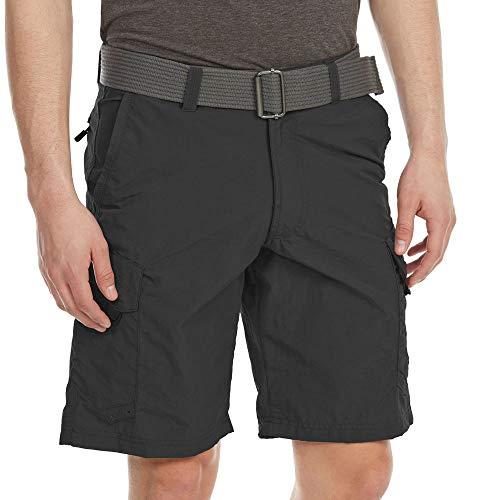 Burnside Mens Outdoor Adventure Nylon Cargo Short