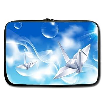 Cielo Azul Papel de burbuja mejor Precio de la grúa 15.6 inch Laptop/Ordenador portátil/portátil (neopreno, resistente al agua (doble cara, sin correas): ...