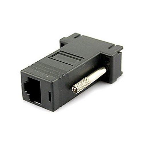 12 opinioni per Convertitore/Adattatore Porta: RJ-45/RJ11 vga maschio a lan cat5 cat5e RJ45