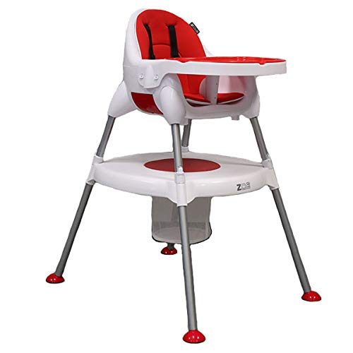 ZOE 5-in-1 Highchair - Portable, Adjustable, Comfortable, Stylish, Easy to Use