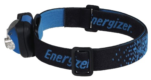 Energizer Pro 7 LED  Industrial Headlamp, Blue/Black, 3AAA Batteries Included