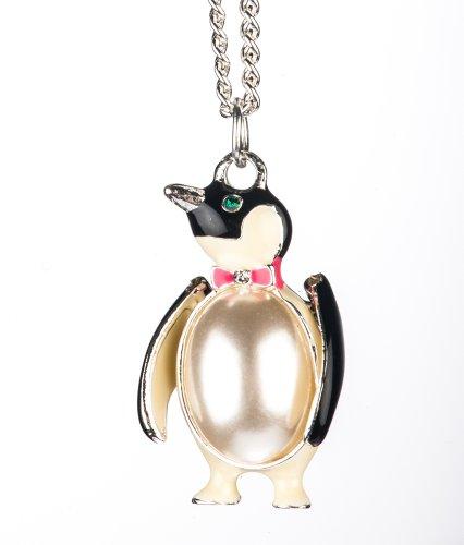 Womens Penguin Pendant Necklace Shagwear