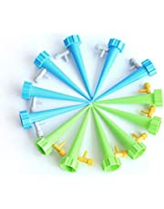 Adjustable water flow control valve drip irrigation watering device 12 PCS