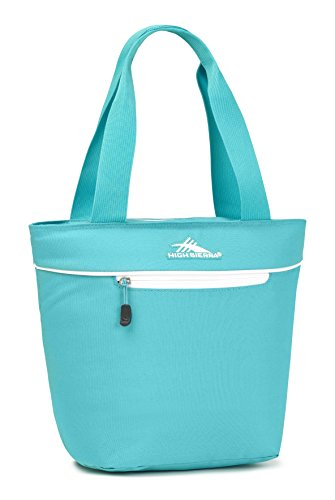 High Sierra Lunch Tote, Turquoise/White