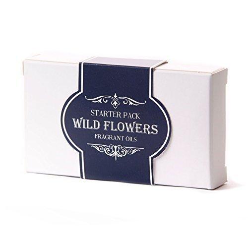 Mystic Moments Fragrant Oil Starter Pack - Wild Flowers - 5 x 10ml