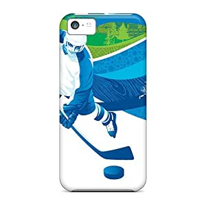 Hot Style XBfVdSu1570TzThZ Protective Case Cover For Iphone5c(ice Hockey)