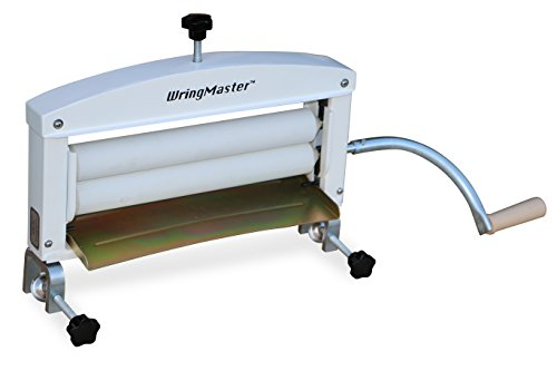 WringMaster Clothes Wringer Hand Crank - Extra wide - for Home, Boating, Camping, Laundry Dryer